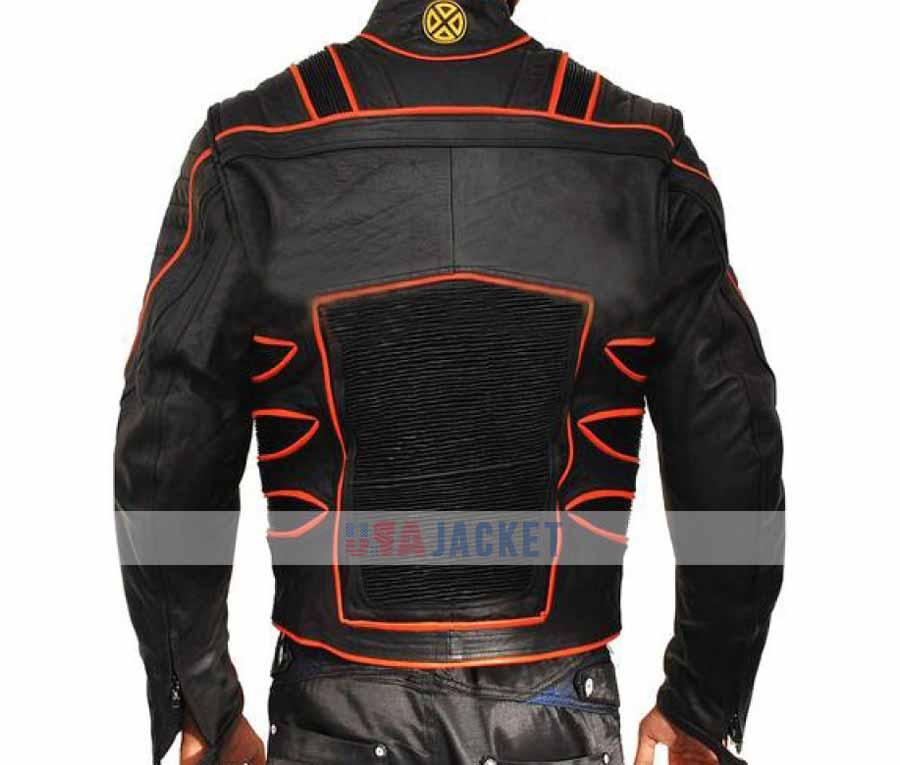 Hugh Jackman Wolverine X Men Motorcycle Jacket