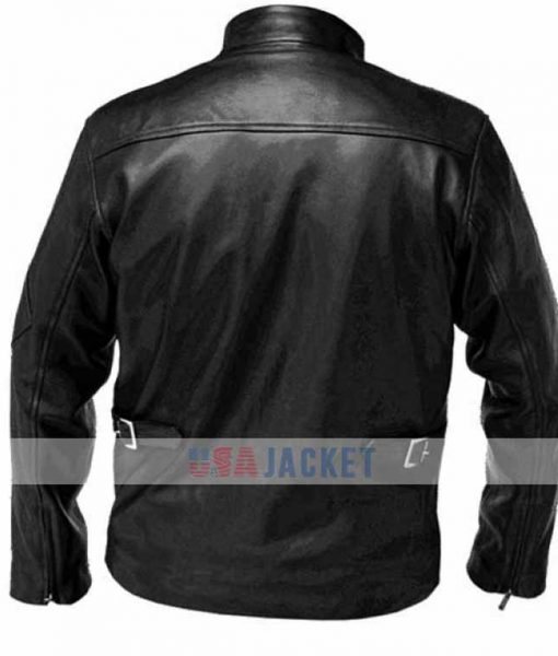 Cyclops Black Leather Jacket