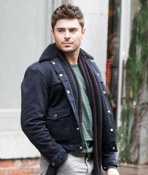 Zac Efron Fur Collar Jacket That Awkward Moment