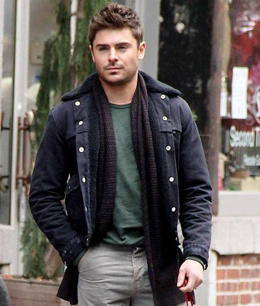 That Akward Moment Zac Efron Black Jacket