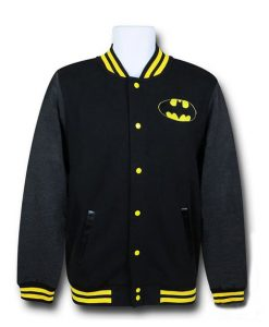 Batman Logo Letterman Jacket