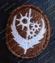 Elder Brown Fur Collar Maxson Long Jacket