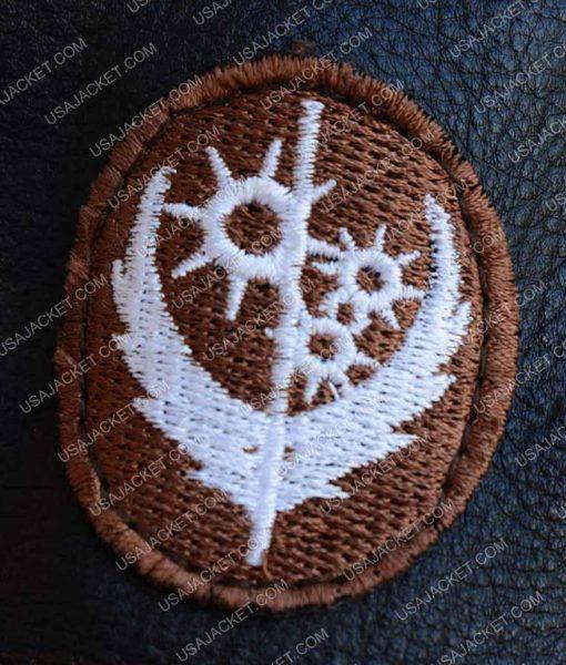 Elder Brown Fur Collar Maxson Jacket