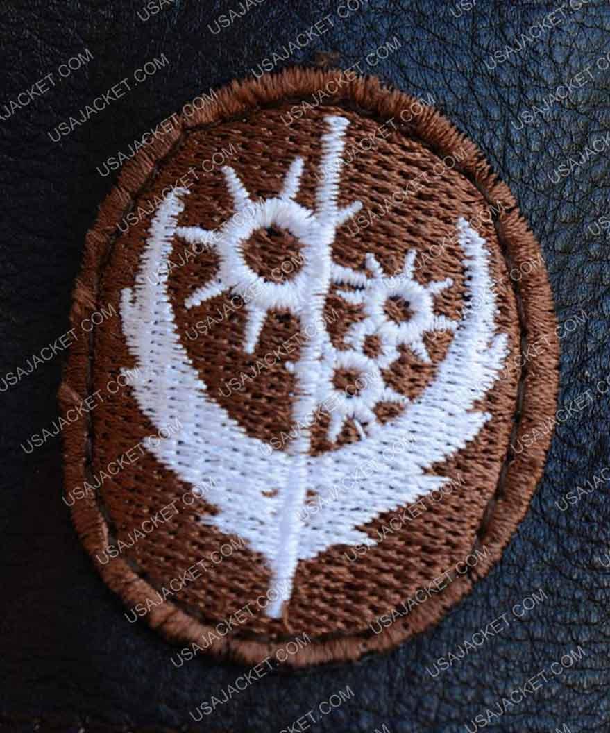 e8f649b67 Elder Brown Fur Collar Maxson Long Leather Jacket