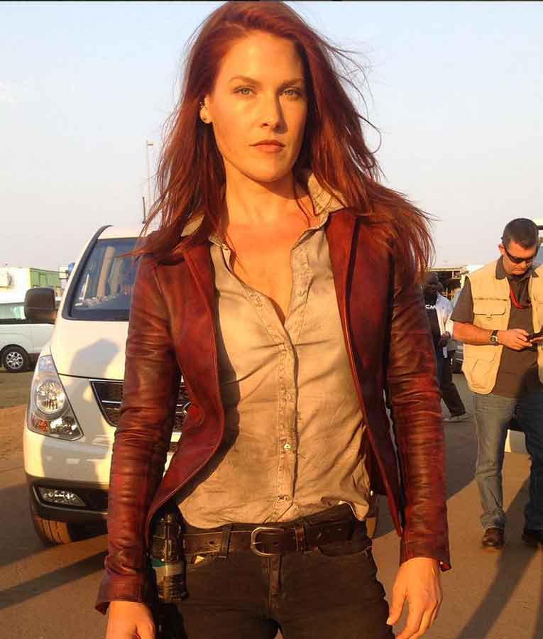 Resident Evil The Final Chapter Claire Redfield Jacket