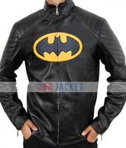 Batman Classic Lego Leather Jacket