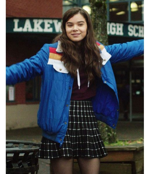Hailee Steinfeld The Edge of Seventeen Bomber Jacket