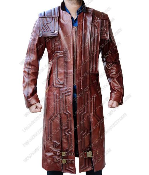 guardians of the galaxy vol 2 leather coat