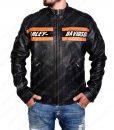 Bill Goldberg Harley Davidson WWE Vistage Black Leather Jacket