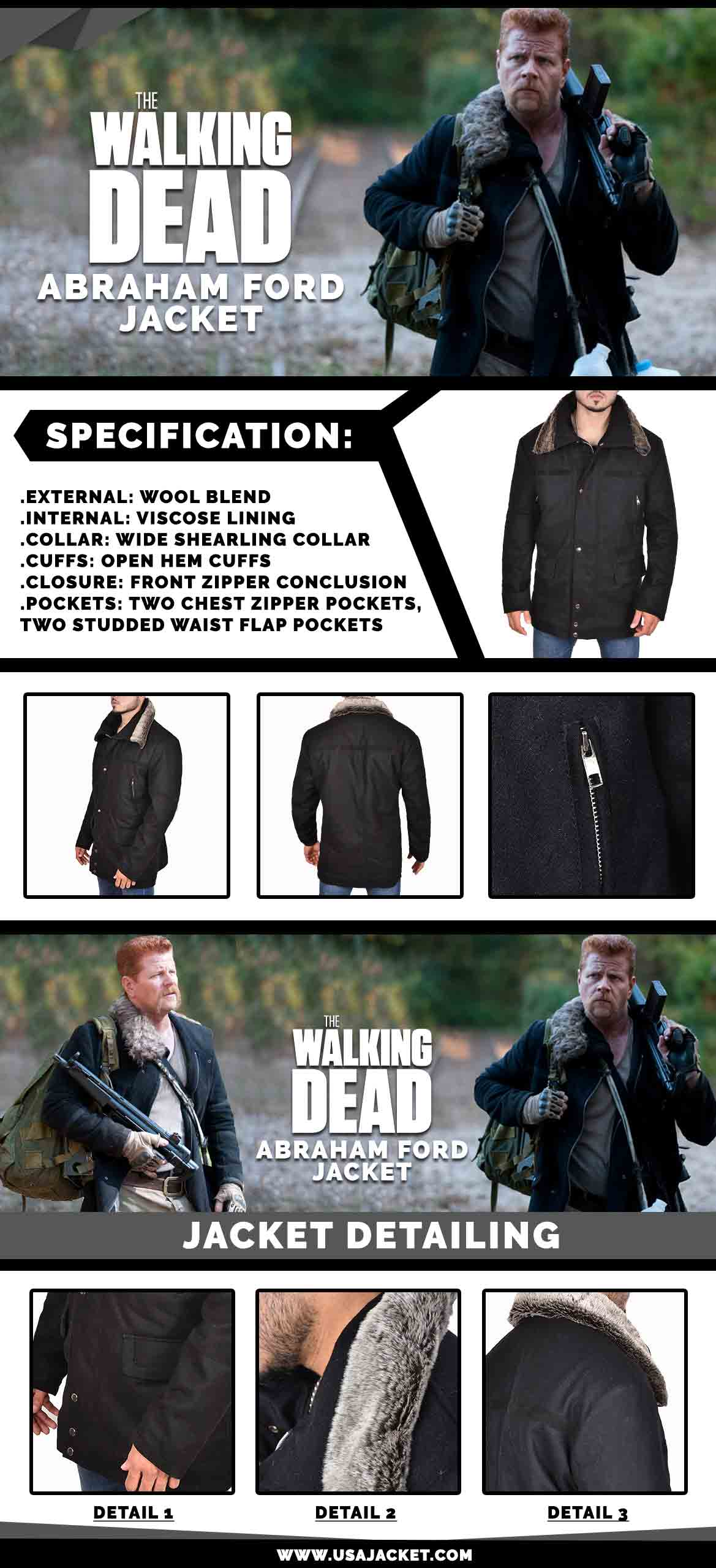 TWD Abraham Ford Jacket