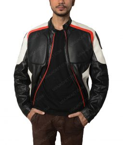 Arrow Season 5 Echo Kellum Curtis Holt Mister Terrific Leather Jacket