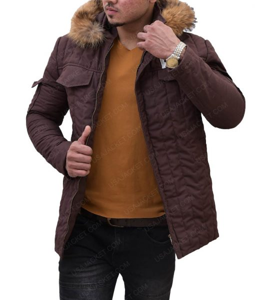 Star Wars Han Solo Hoth Parka Brown Jacket