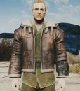 Fallout 4 Leather Bomber Jacket