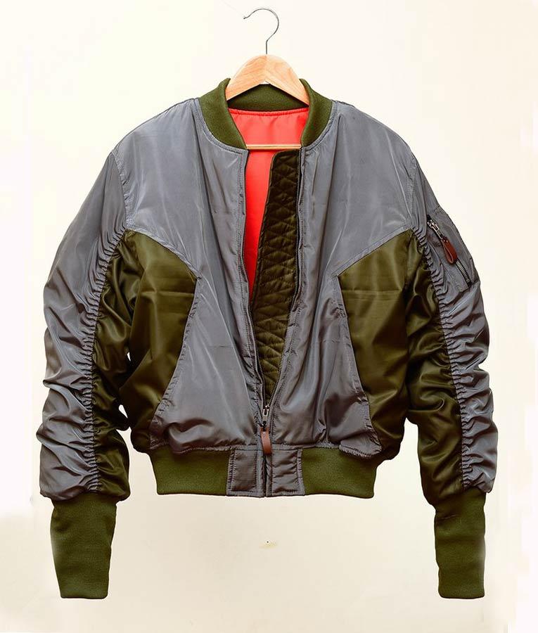 Scarlett Johnson Ghost In The Shell Major Bomber Jacket