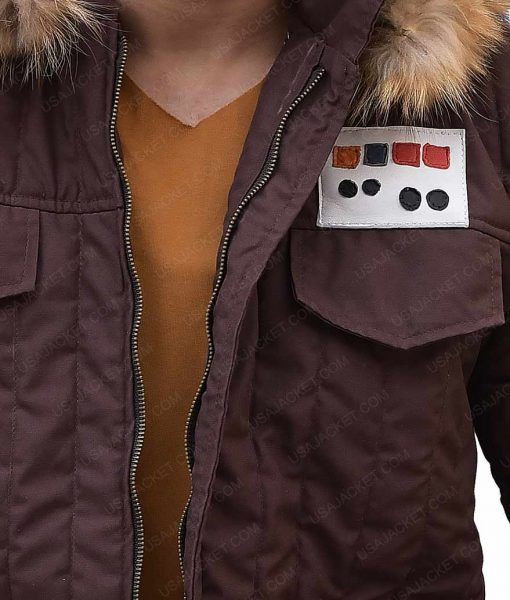 Hoth Parka Brown Fur Hooded Jacket