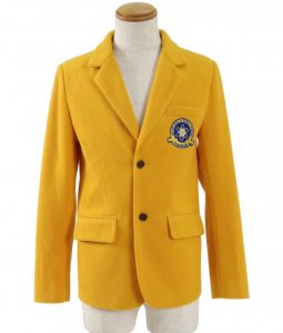 Spiderman Homecoming Midtown School of Science And Technology Yellow Blazer