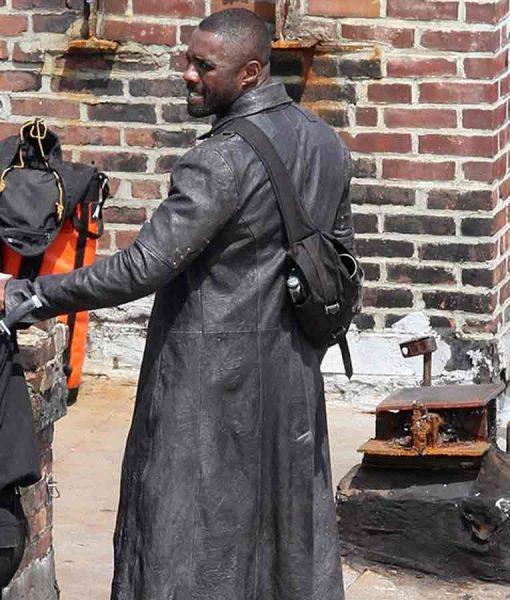 Idris Elba The Dark Tower Roland Deschain Leather Coat