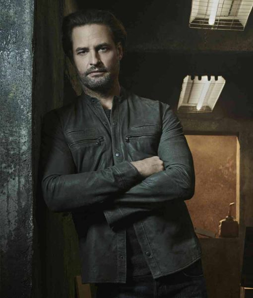 Josh Holloway Colony Leather Jacket