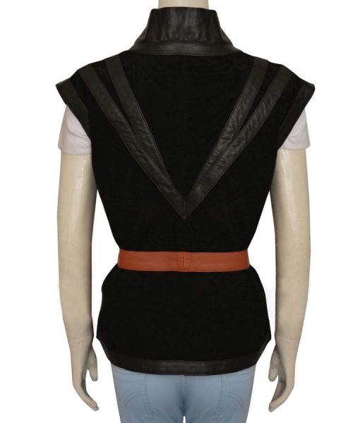 Yennefer Witcher 3 Wild Hunt leather Vest