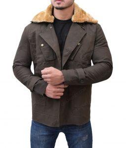 Chris Pine Wonder Woman Steve Trevor Trench Coat