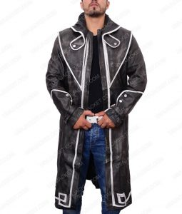 Dishonored Corvo Attano Distressed Leather Coat