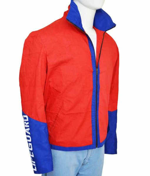 Dwayne Johnson Batwatch Lifeguard Jacket
