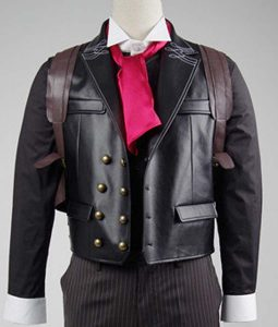 Booker Dewitt Leather Vest