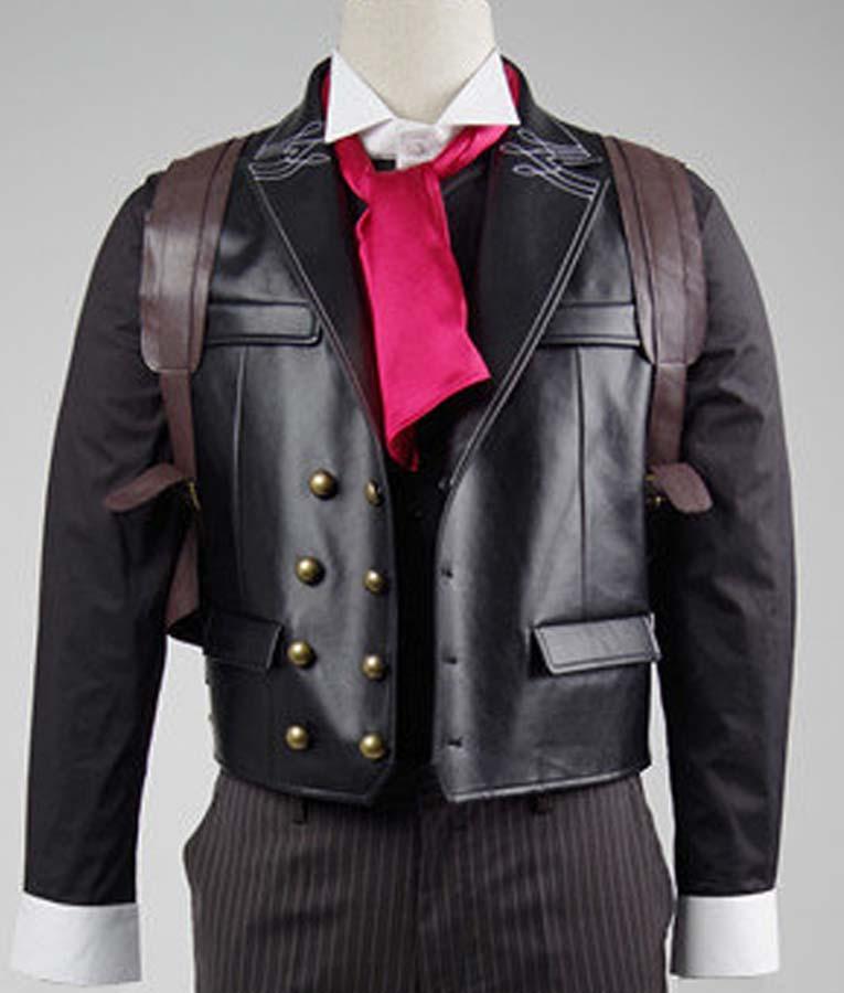 Booker Dewitt Bioshock Infinite Vest & Bioshock Infinite Booker Dewitt Vest