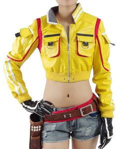 Final Fantasy 15 Cindy Aurum Yellow Jacket