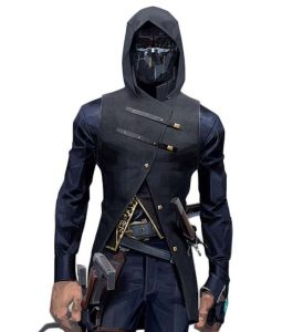 Dishonored 2 Corvo Attano Hooded Leather Vest