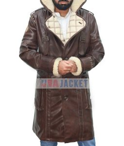 Elder Maxson Fallout 4 Battlecoat Brotherhood Of Steel Jacket in PU Leather