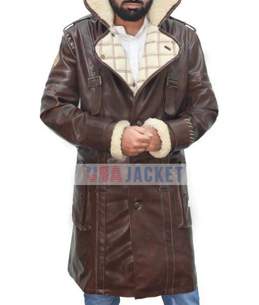 Elder Maxson Pu Coat
