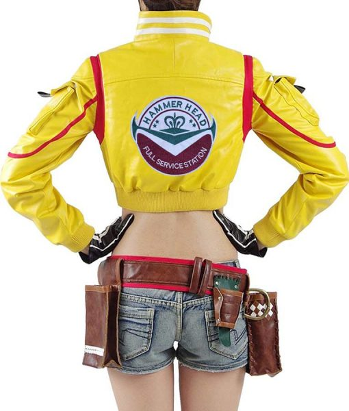 Final Fantasy 15 Cindy Leather Jacket