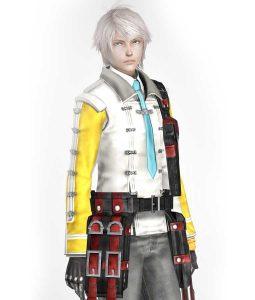 Final Fantasy 13 Hope Estheim Leather Jacket