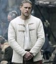 King Arthur Legends Of The Sword Ivory Cotton Jacket