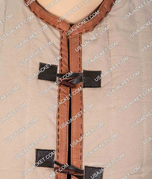 King Arthur Legends Of The Sword Brown Jacket