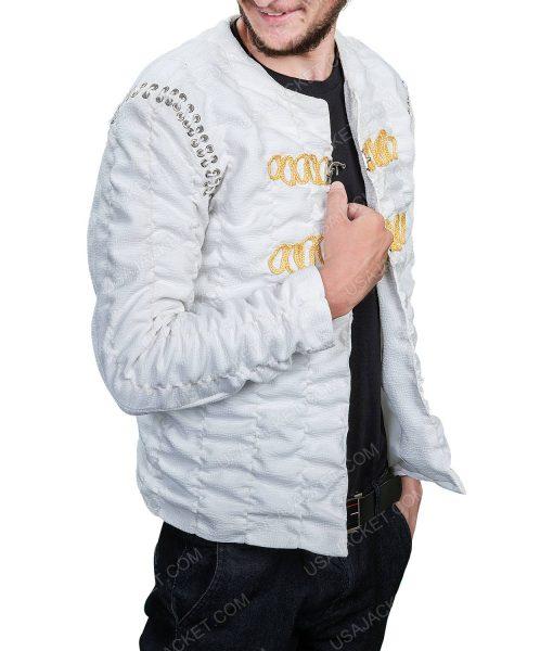 Charlie Humman King Arthur Legends Of The Sword Ivory Jacket