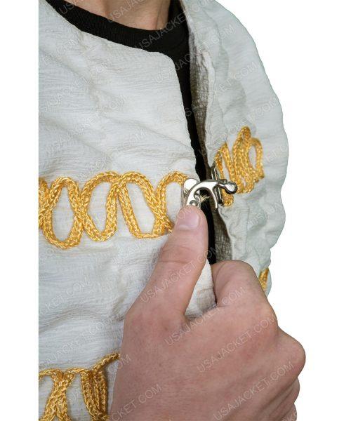 Legends Of The Sword Charlie Hunnam Ivory Jacket