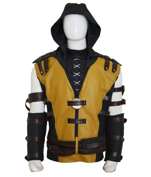 Mortal Kombat 10 Scorpion Hooded Jacket