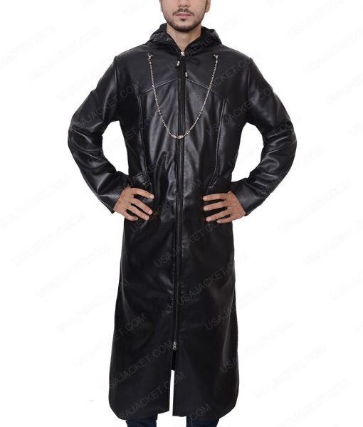 Organization 13 Enigma Leather Trench Coat