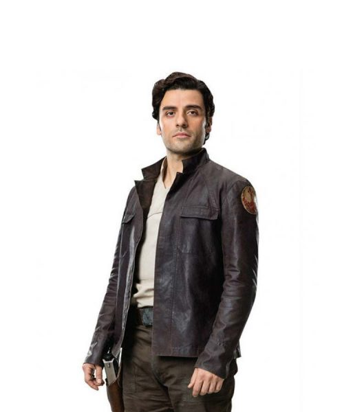Poe Dameron Oscar Isaac Leather Jacket