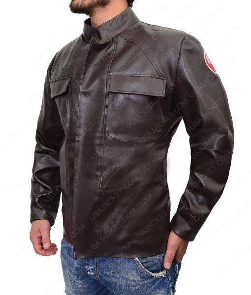 Poe Dameron Oscar Isaac Leather Jacket