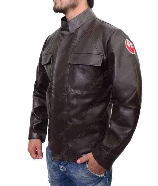 Star Wars Oscar Isaac Leather Jacket