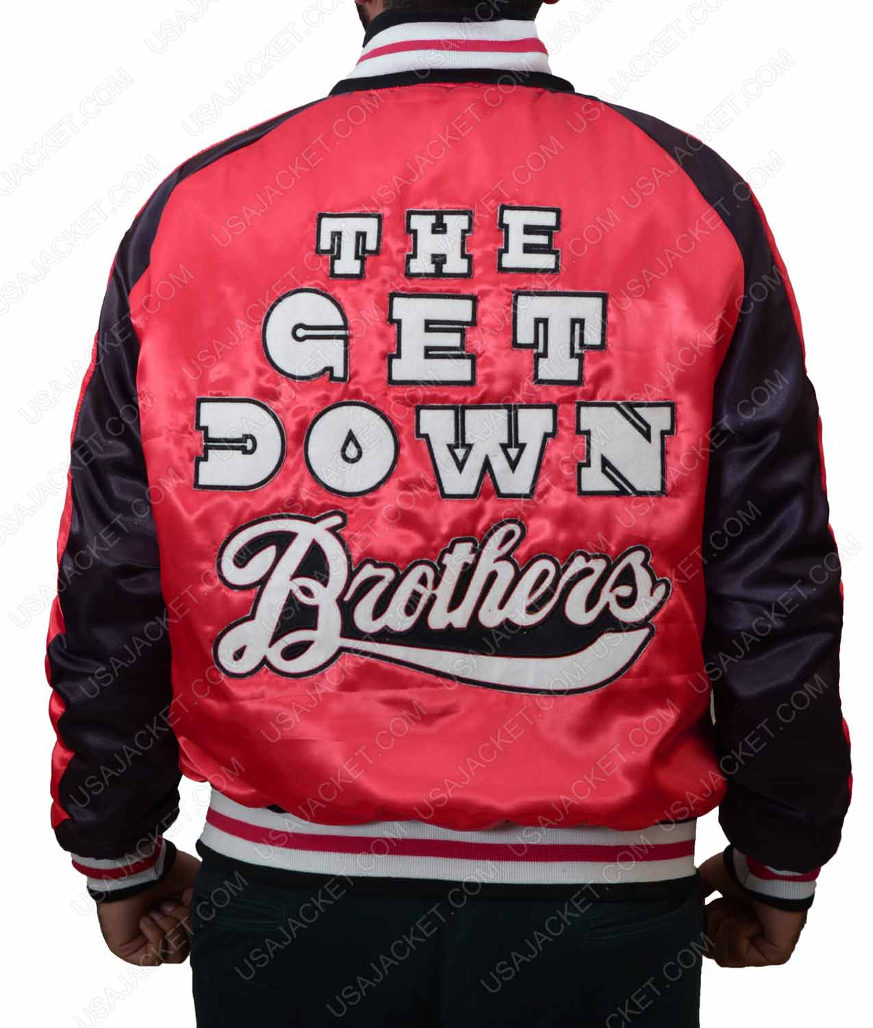 b8fc8682cf The Get Down Brothers Letterman Jacket