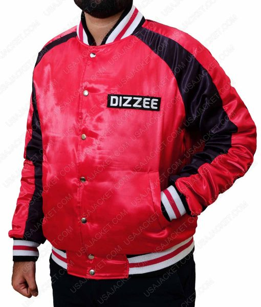 The Get Down Brother Blue And Red Satin Jacket