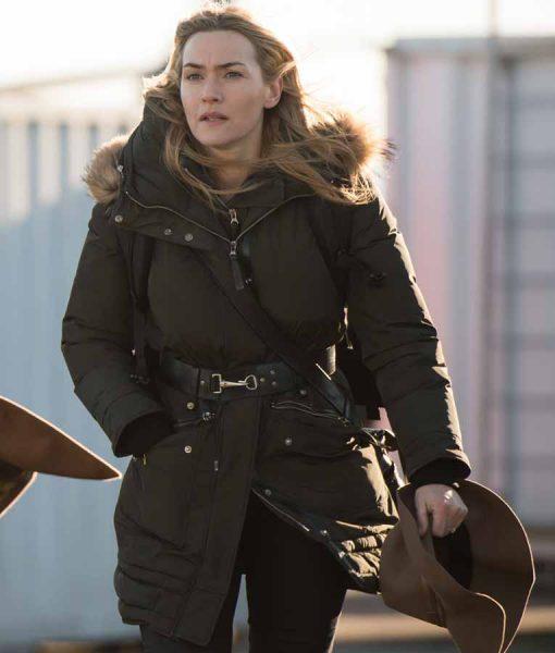 The Mountain Between Us Kate Winslet Fur Coat