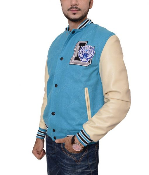 13 Reasons Why Liberty High Tigers Letterman Jacket