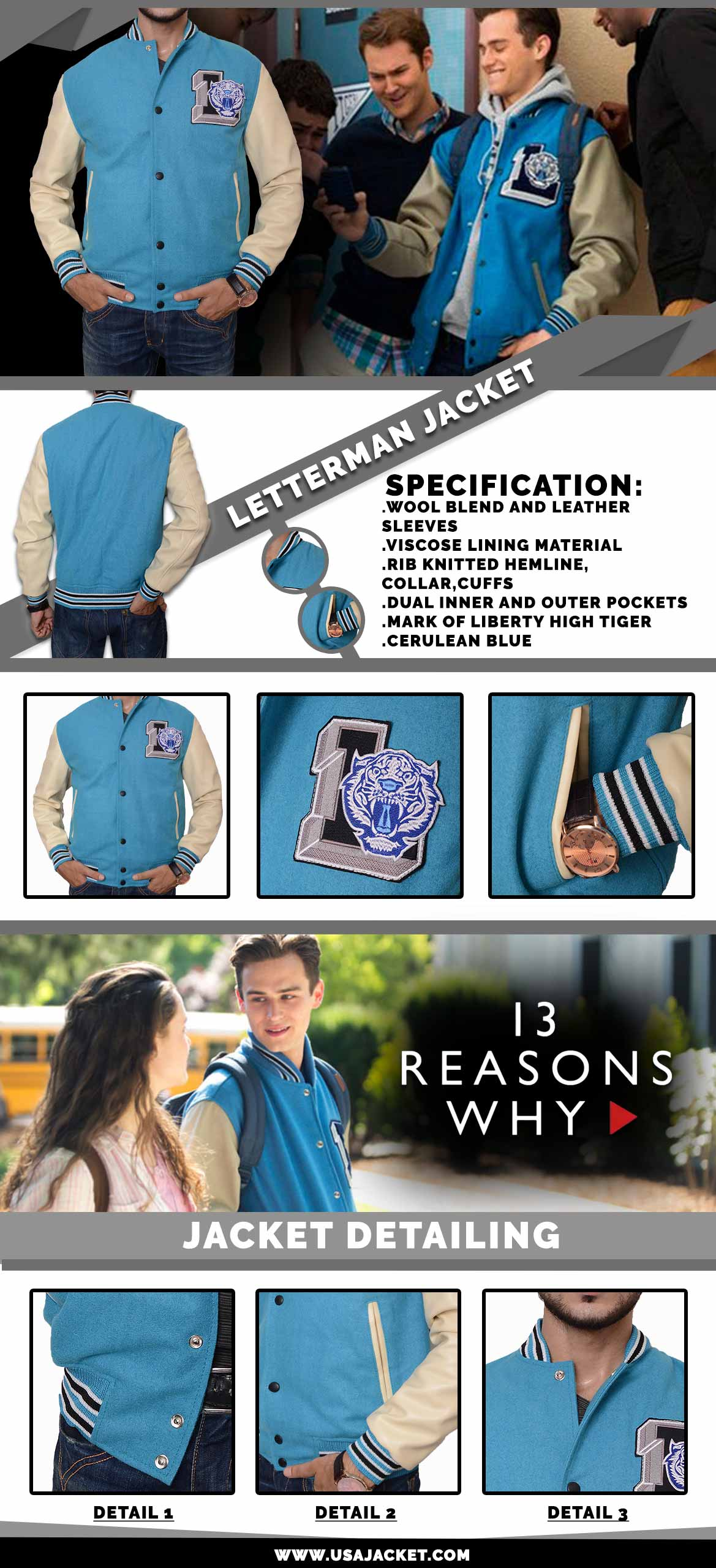 13-reason-why letterman jacket infographi