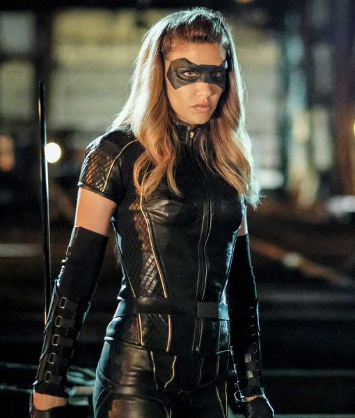 Black Canary Arrow Season 6 Jacket