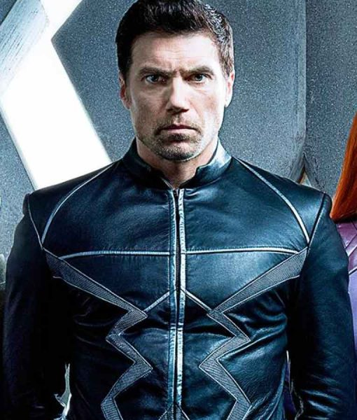 Inhumans Black Bolt Leather Coat